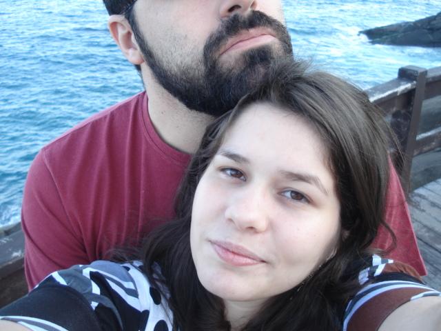 Homenagem à Bruna no dia de nosso casamento.